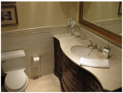 after image of the bathroom