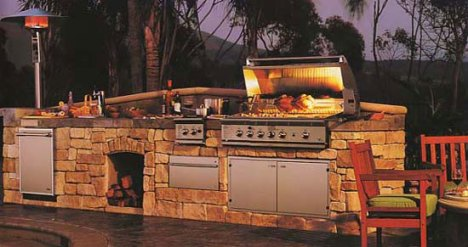 outdoor bbq kitchen orange county