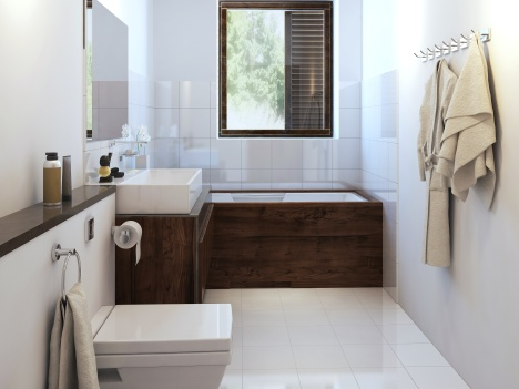 Bathroom in modern style